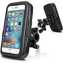 "Repou iPhone 6 Montura soporte de bicicleta ajustable universal para 4.5""--5"" Teléfono móvil iPhone 6 6s , Samsung Galaxy S5 Mini , Samsung Galaxy S4"