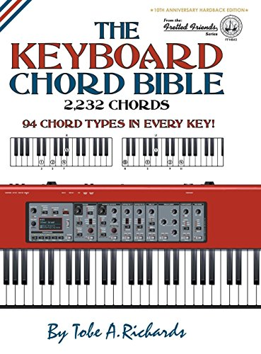 The Keyboard Chord Bible: 2,232 Chords (Fretted Friends Series) por Tobe A. Richards