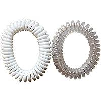 Original Anti-Mückenschutz-Armbänder, Transparent und Weiß preisvergleich bei billige-tabletten.eu