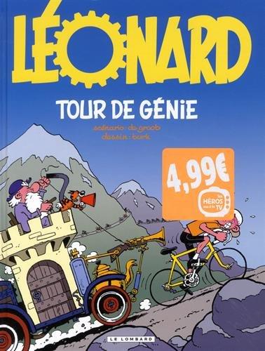 Vu a la TV 2017 - Léonard - tome 44 - tour de génie - vu a la TV