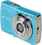 Easypix V527 Candy Digitalkamera (5 Megapixel, 8-fach opt. Zoom, 6,9 cm (2,7 Zoll) Display) iceblue