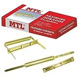 MTL- Pack de 50 Fasteners, Color Dorado (Dohe 79190)