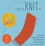 Learn to Knit Kit: Includes Needles a...