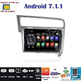 Android 7.1 4 g LTE GPS Navigator USB WLAN Bluetooth Autoradio 2 Din VW Golf 7