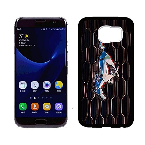 HYBSJKS Ford Mustang Grill Picture Hülle for Samsung Galaxy S7 Hülle Case,PC Material Never Fade (Ford Galaxie Grill)