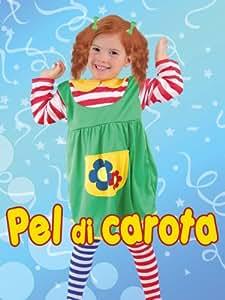 Costume Pel Di Carota 3-4 Anni (Pippi Calzelunghe)