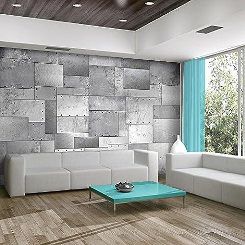 murando – Papier peint intissé 400x280 – Papier peint – Tableaux muraux déco XXL – métal f-A-0246-a-c
