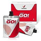 Vanir GO! Hidratos de Carbono + Citicolina + Cafeína y Taurina + Vitaminas B - 7 envases de sabor Naranja-Piña de 23,8 ml/c. u.