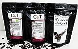 Geschenkset - PLATIN ANGEL- Entkoffeinierter Kaffee aus eigener Kaffeerösterei (Grob gemahlen)