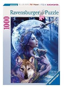 Ravensburger - 15414 - Puzzle - Entre Femme Et Loup - 1000 Pièces