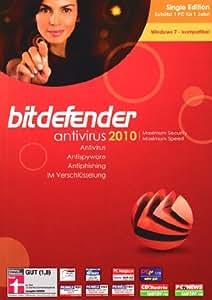 Bitdefender Antivirus 2010 Single Edition 1 Platz