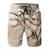 Beach Shorts Surreal Onyx Stone Surface Pattern Men Ultra-Light Swim Trunks Casual Board Pant