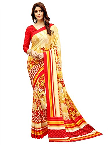 TexStile Womens All Colour Saree For Womens Saree With Blouse Pieces
