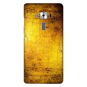 Mobo Monkey Designer Printed Back Case Cover for Asus Zenfone 3 Deluxe ZS570KL (5.7 Inches) (Texture :: Metallic :: Pattern :: Golden :: Wallpaper)
