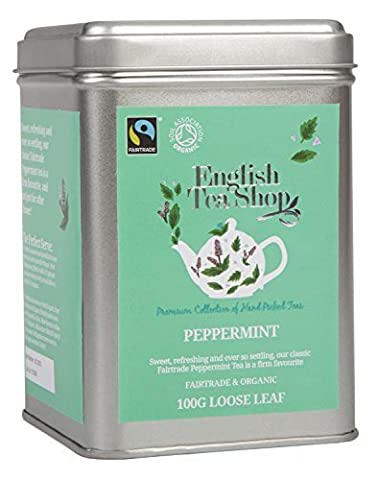 English Tea Shop Peppermint Fairtrade and Organic Loose Tea 100