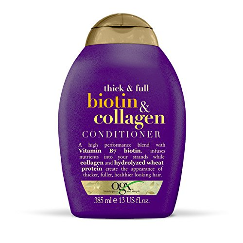Price comparison product image Organix - Après-shampoing Biotin & Collagen - le flacon de 385 ml - (for multi-item order extra postage cost will be reimbursed)