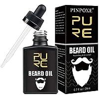 Aceite de Barba, Cuidado de Barba, Beard Oil, Aceite Acondicionador para Hombres, Ideal para El Crecimiento de La Barba, Suavizar, Hidratar, Fortalecer - Ingredientes Naturales Puros