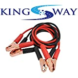 Kingsway kkmbjc00001 Battery Jumper Cable for Cars and Bikes (Red and Black)