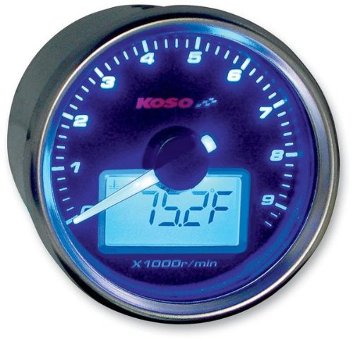 KOSO Temperature Gauge GP Style D48/Termometro Max 150//°C