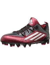 Adidas Crazyquick 2.0 hombre del fútbol de las grapas 9 Negro-platino-roja