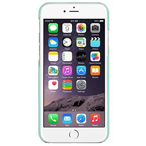 Wkae Case Cover 0.7mm ultra thin polycarbonat material schutz für ihren pc für iphone 6 plus &65 plus ( Color : Pink ) Green