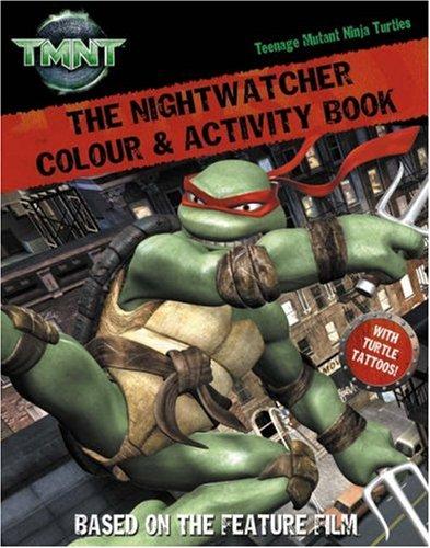 Nightwatcher (Teenage Mutant Ninja Turtles) (Teenage Mutant Tattoos Turtles Ninja)