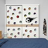kuamai Kinderzimmer Junge Schlafzimmer Kleiderschrank Wandschmuck Wand Einfügen