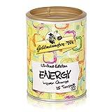 Goldmännchen Tee PUROMA Energy / Ingwer Orange, Kräutertee, Früchtetee, Teebeutel, Tee Pads, 25 Puroma-Beutel, 9221