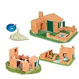VIDOO Castello Di Costruzione Fai Da Te Modello Mattoni Costruzione Edificio A Casa Spiaggia Giocattolo
