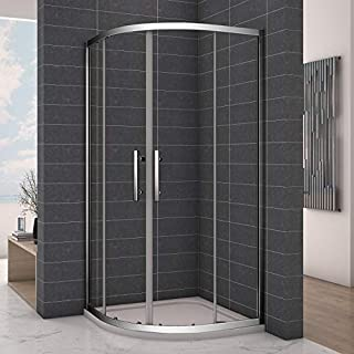 800x800mm Quadrant Shower Enclosure Sliding Glass Door
