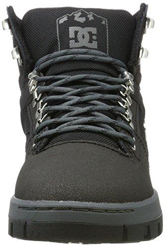 DC Shoes Herren Spartan High Wr Boot Klassische Stiefel Schwarz (Black/Black/Dk Grey)