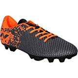 Nivia Premier Carbonite Range Football Studs (Black/Orange)