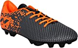 #1: Nivia Premier Carbonite Range Football Studs (Black/Orange)