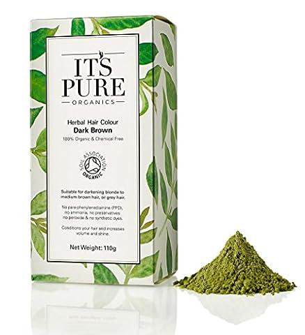 Organic Hair Dye - It's Pure Organics Herbal Hair Colour
