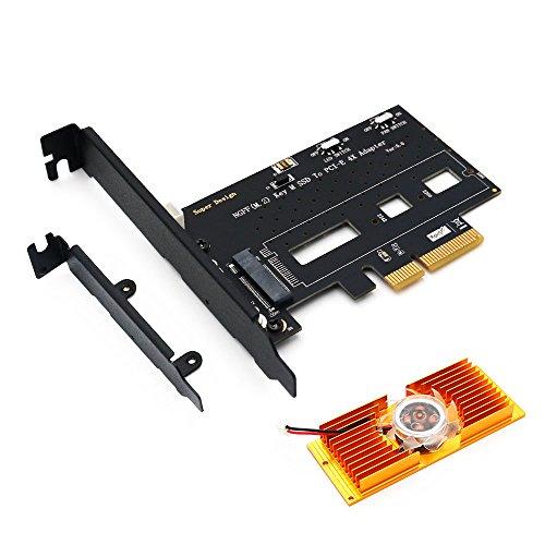 c | Moduli: 2280 Custodia per dischi rigidi USB 3.0 su adattatore M.2 Supporto UASP NGFF NGFF standard 2 interfacce 2242 e 2230 | 1x M.2 Key B Facile installazione molto compatta // trasportabil Aplic Custodia SSD per dischi rigidi M.2 2260