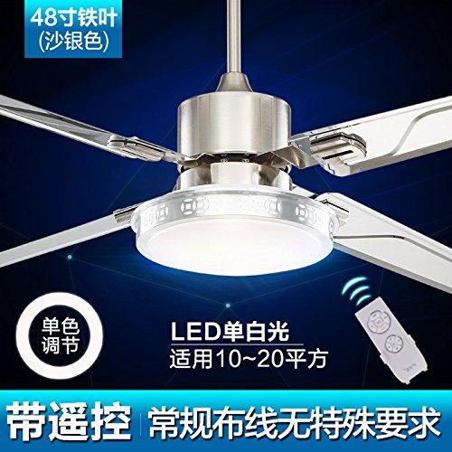 LED sala da pranzo camera da letto soggiorno ventilatore soffitto ventilatore lampada lampadario,controllo remoto di (Legno Della Struttura Del Soffitto Apparecchio Apparecchio)