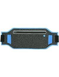 Running Waist Bag, 2 Colors Zipper Design Outdoor Travel Running Waist Packs With Headphone Jack For Workout Vacation...