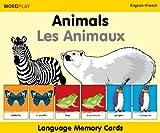 Language Memory Cards - Animals - English-French (Wordplay)