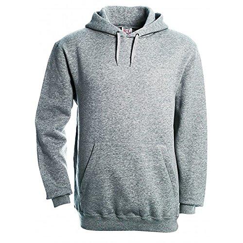 B&C Herren Kapuzenpullover / Hoodie / Kapuzensweater White