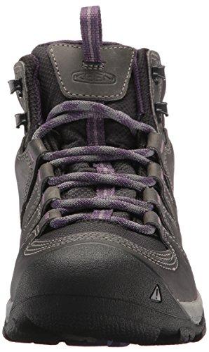 Keen Gypsum II Mid WP, Scarpe da Arrampicata Alta Donna Grigio (Earl Grey/purple Plumeria 0)