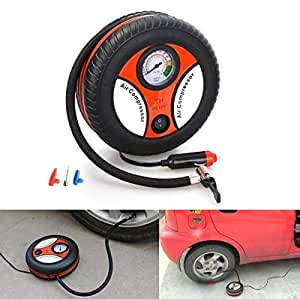 Mobily Car Tire Inflation Pump 12V Air Compressor Mini Tire Design for Car and Bike Tyre Tire Inflator