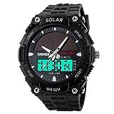 hiwatch LED Herren Armbanduhr Fashion Sport wasserdicht digital Uhr für Herren Jungen Mädchen Armbanduhr, Best Christmas Geschenk. (D)