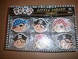 15 Radiergummi Pirat - Mitgebsel Kindergeburtstag Piratenparty