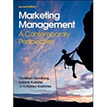 Marketing Management: A Contemporary Perspective