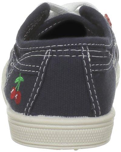 Little Cerise Basic 02, Mädchen Sneaker Blau - Blau (Marineblau)