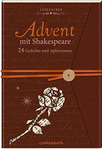 Briefbuch - Advent mit Shakespeare: 24 Gedichte und Aphorismen