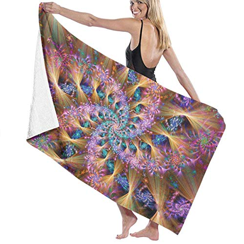Ewtretr Strandtücher Microfiber Beach Towel Tie Dye Bling Colorful Colourful Bath Towel Beach Blanket Quick Dry Towel for Travel Swim Pool Yoga Camping Gym Sport -30
