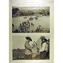 Guerre de Boer de 1900 Campagnes Afrique Tugela Cronje Hms Doris