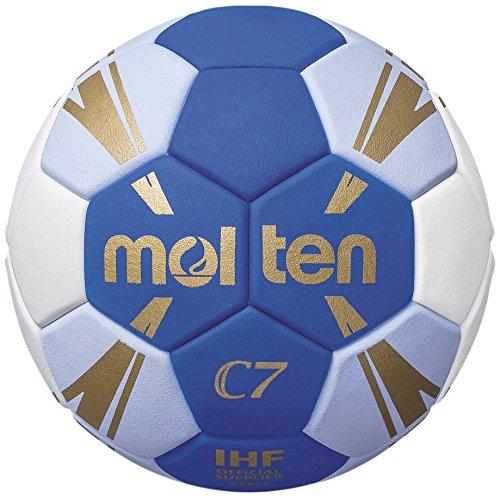 molten Kinder H1C3500-BW Handball, Blau, 1