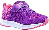 Gaatpot Unisex-Kinder Sneakers Mädchen Jungen Turnschuhe Low-Top Freizeit Running Sportschuhe Outdoor Laufschuhe Pink 35 EU = 36 CN